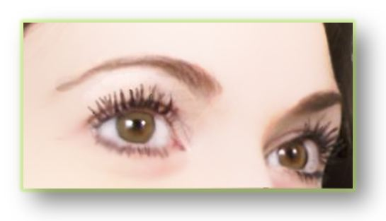 One coat of d.j.v. beautenizer Volume Lash Mascara