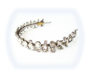 Carolina Rodriguez Reina Jeweled Headband