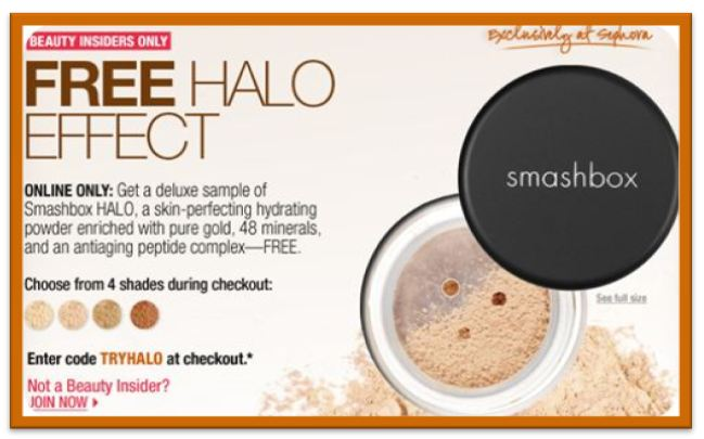 Smashbox Halo
