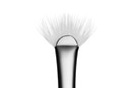 MAC 205 Mascara Fan Brush Bristles
