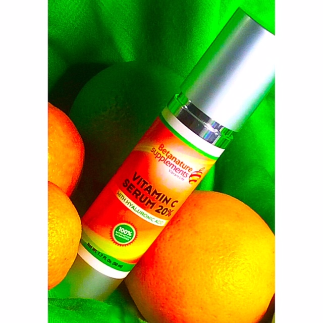 Betanature Supplements Vitamin C Serum with Hyaluronic Acid