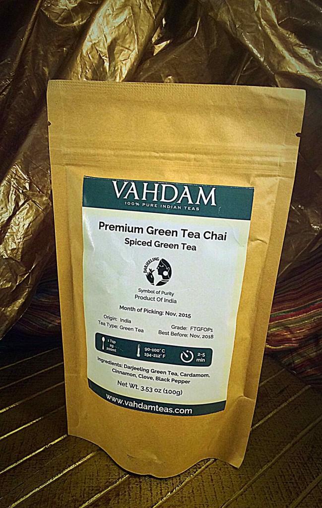 Vahdam Premium Green Tea Chai