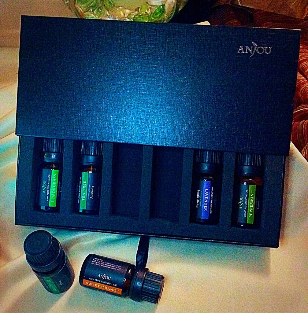 Anjou Essential Oils Kit And Diffusing Humidifier