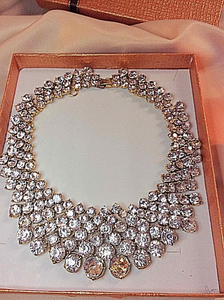 IDGIRL Jewelry Crystal Vintage Collar Choker