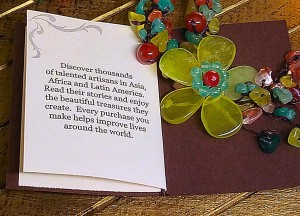 NOVICA Multi-Gemstone Y-Necklace 'Dazzling Flower Bloom' Story