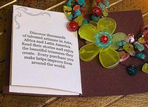 NOVICA Multi-Gemstone Y-Necklace 'Dazzling Flower Bloom' Story
