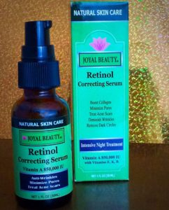 Joyal Beauty Organic Retinol for Face and Eyes