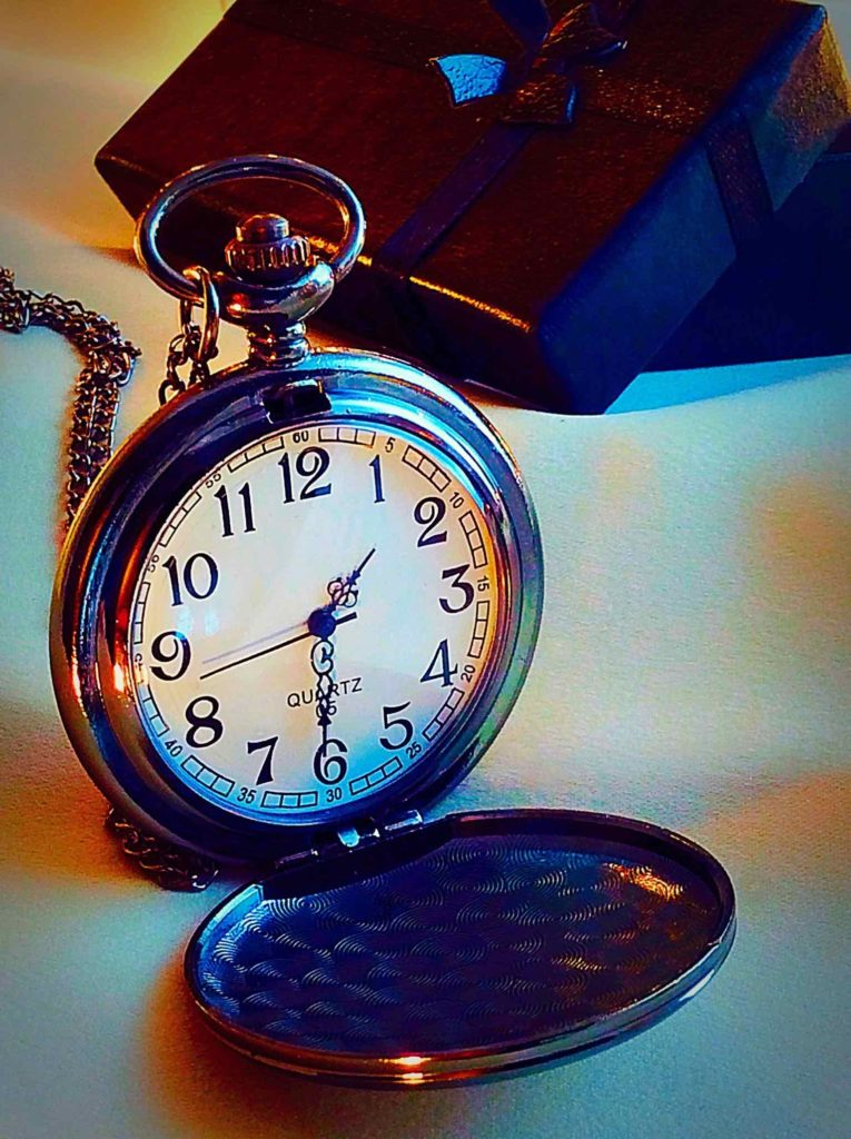 Marte Pocket Watch with Necklace Chain