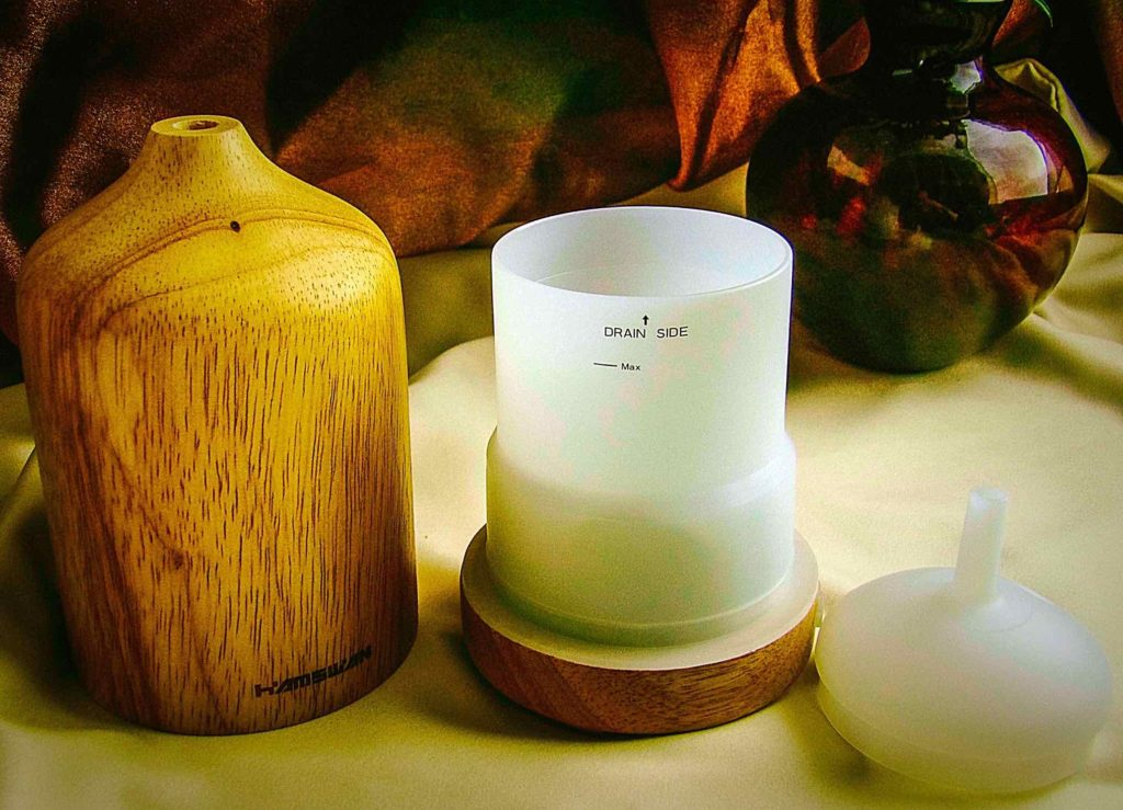 Hamswan Ultrasonic Essential Oil Diffuser