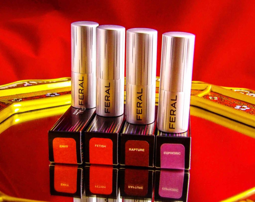 Feral Cosmetics Ultra Smooth Lipsticks