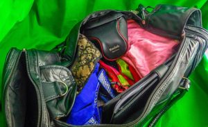 Embassy™ Design Genuine Leather Gym Bag