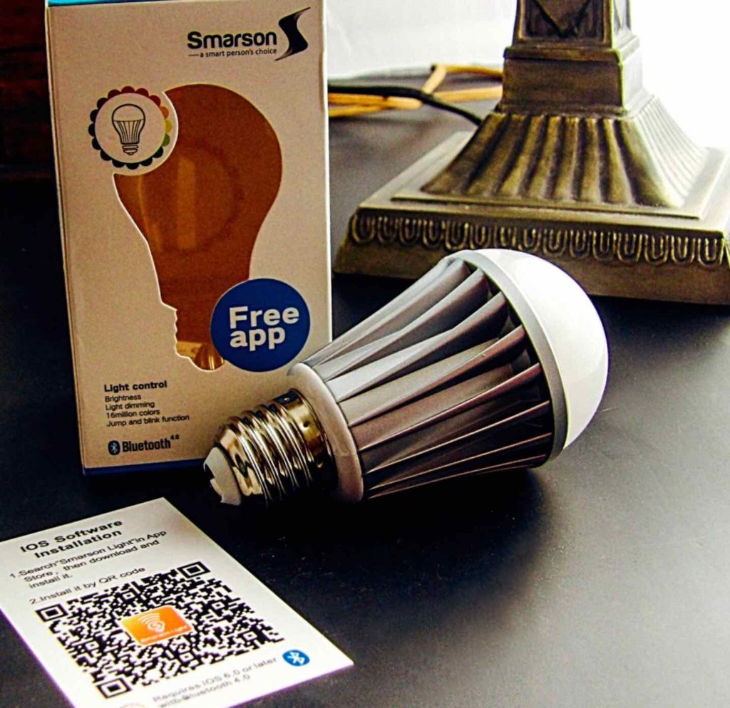 Smarson Bluetooth LED Light Bulb