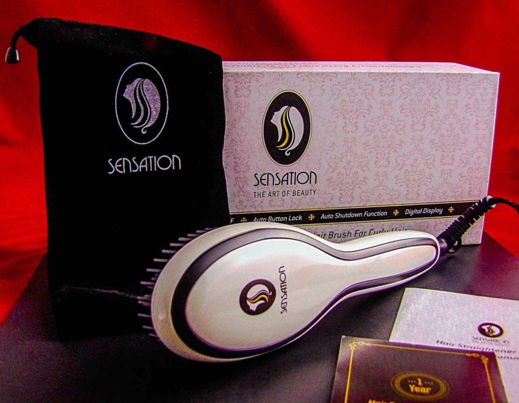 Sensation Professional Electric Straightener Brush