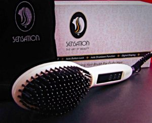 Sensation Professional Electric Straightener Brush