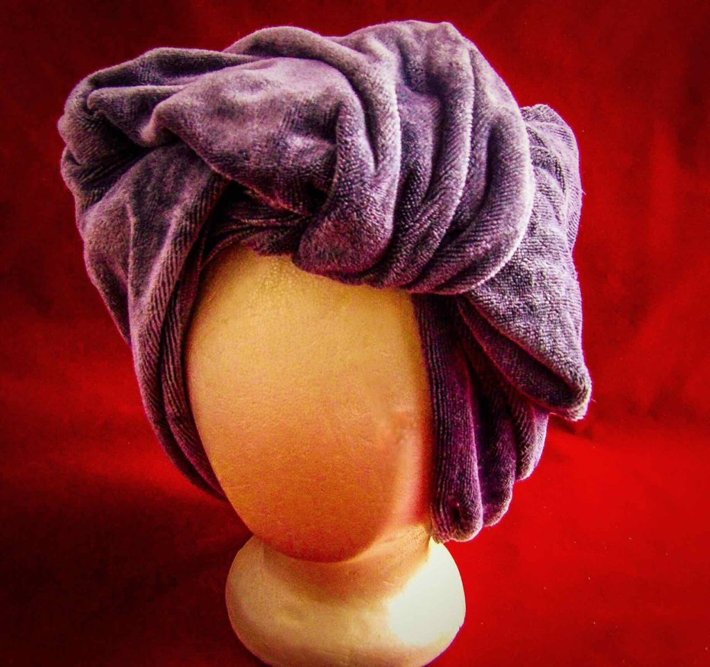 Premium Microfiber Extra-Large Hair Towel by The Curly Co