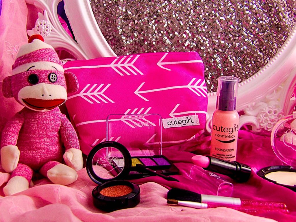 Pretend Play Makeup Set by Cutegirl Cosmetics