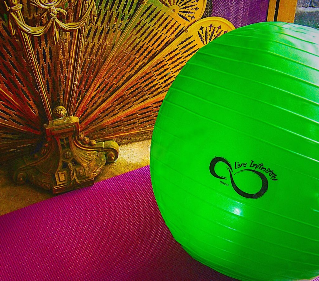Weekend Workout: Live Infinitely Exercise Ball