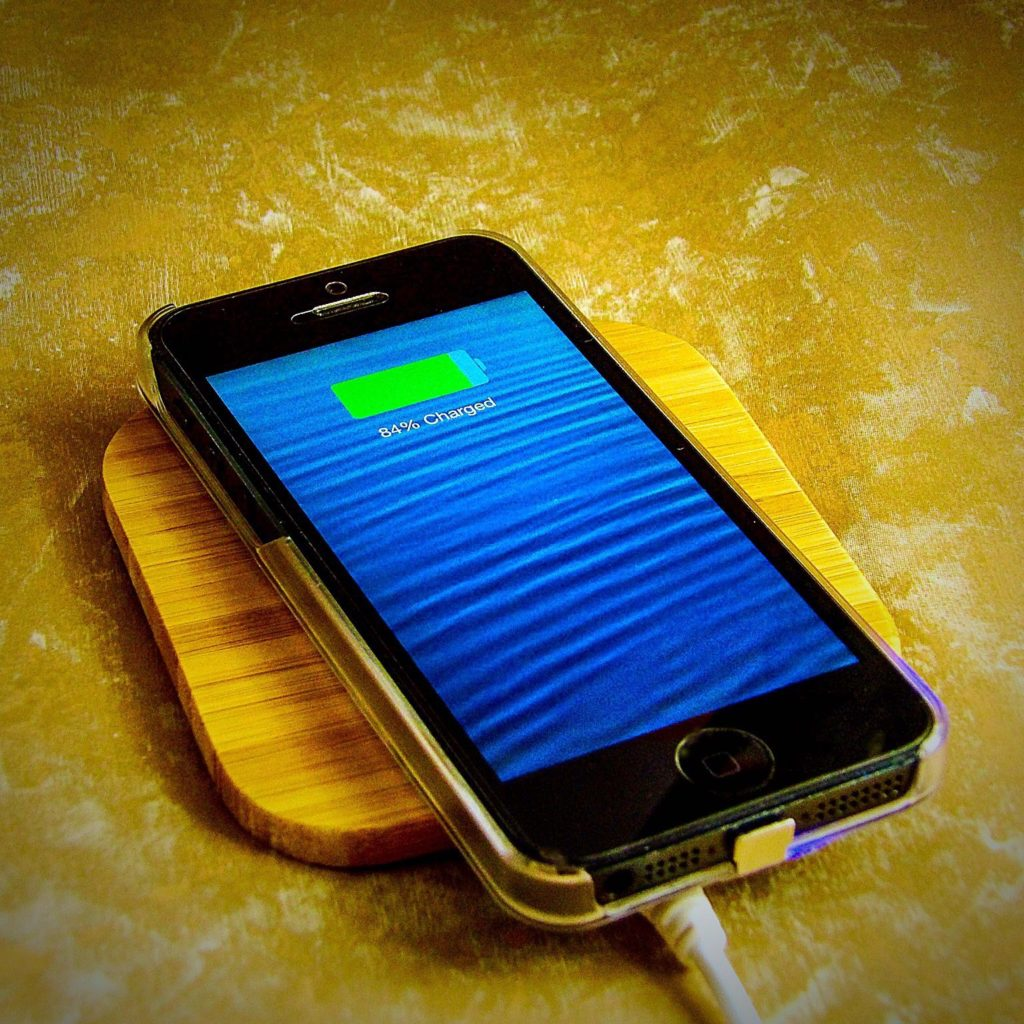 Nunet Natural Bamboo Wireless Charger