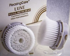 PleasingCare Sonic Facial Cleansing Brush Luxe Brush Heads