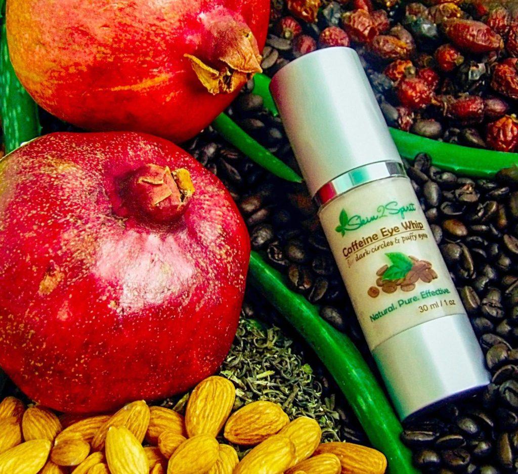 Skin2Spirit Organic Caffeine Eye Whip Cream