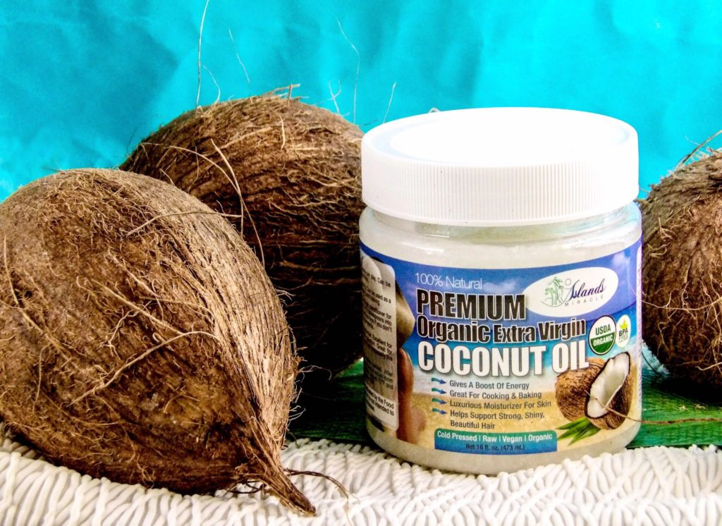 Island's Miracle Organic Coconut Oil