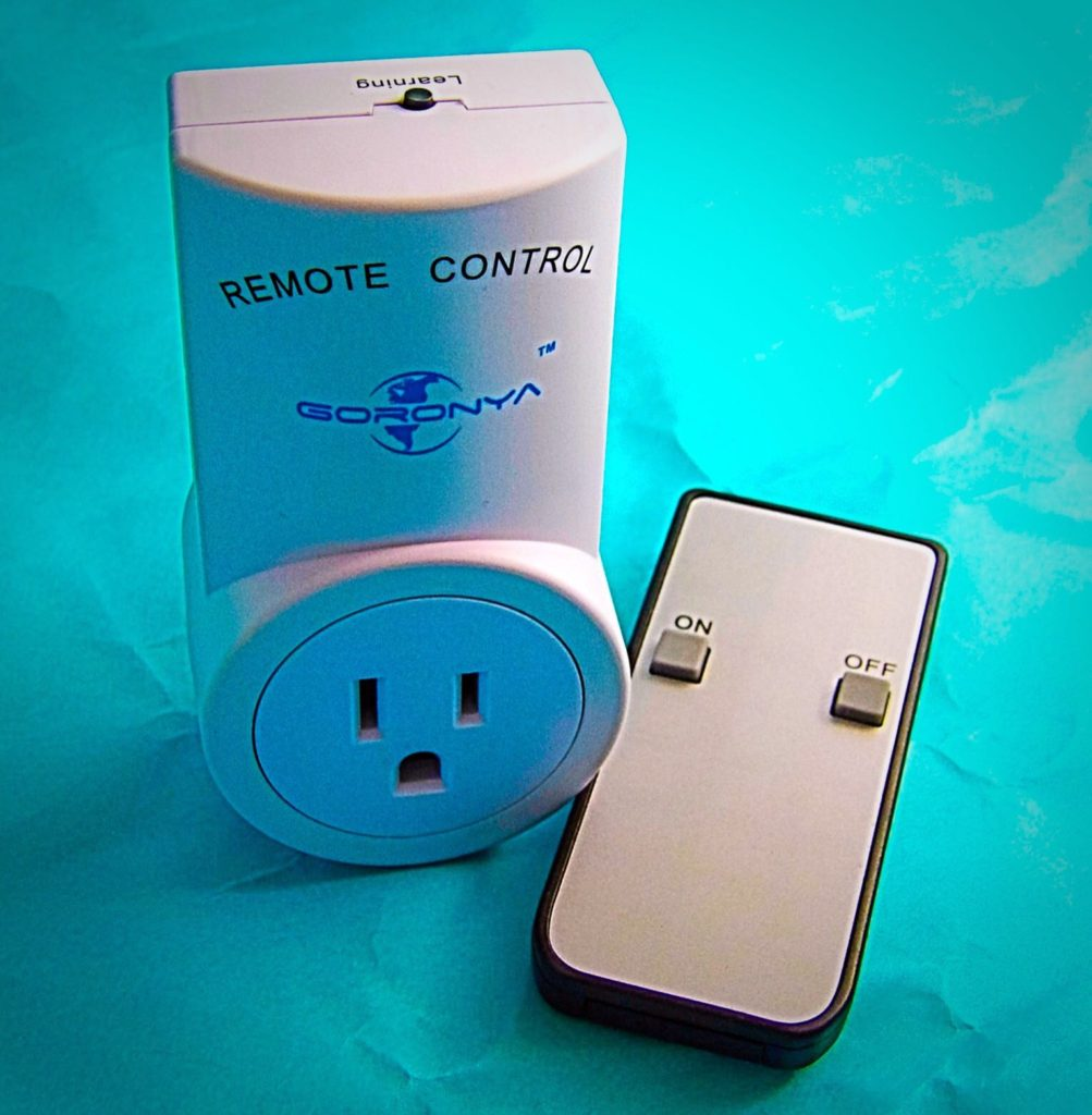 Goronya Wireless Remote Control Outlet Switch Kit