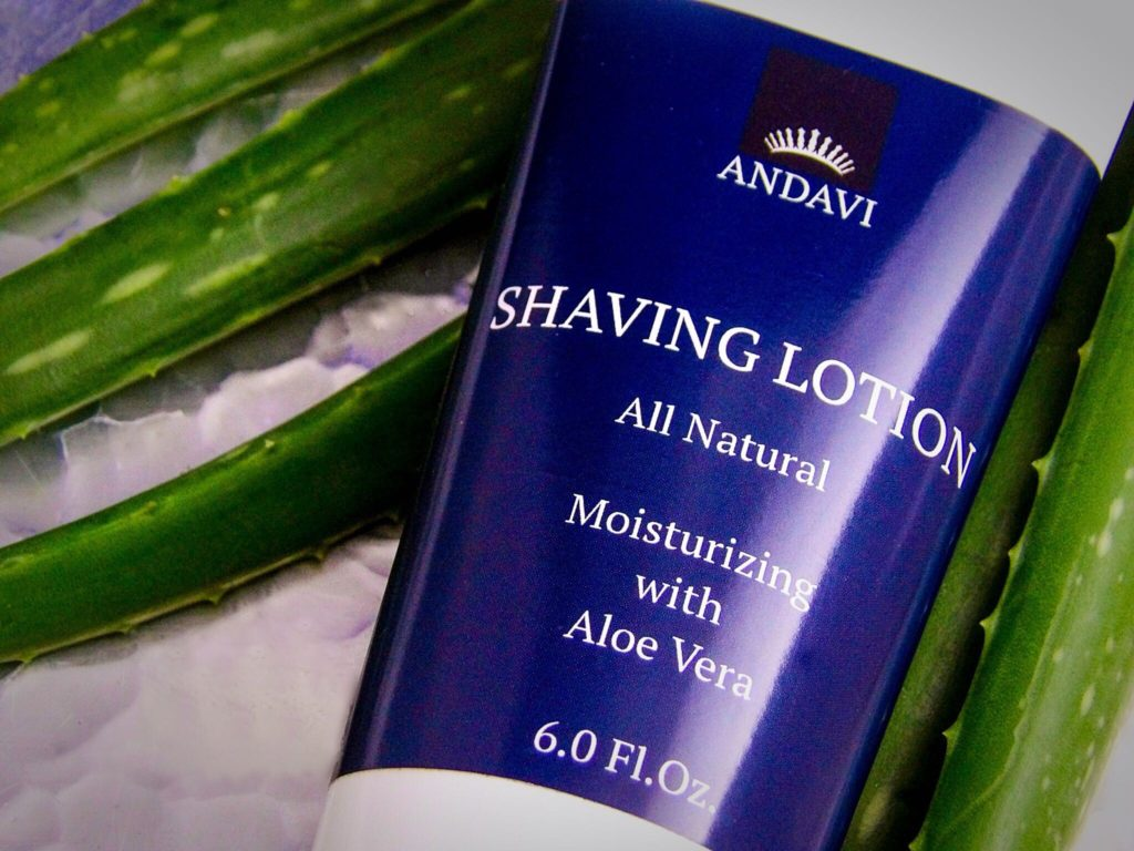 Andavi All Natural Shaving Lotion