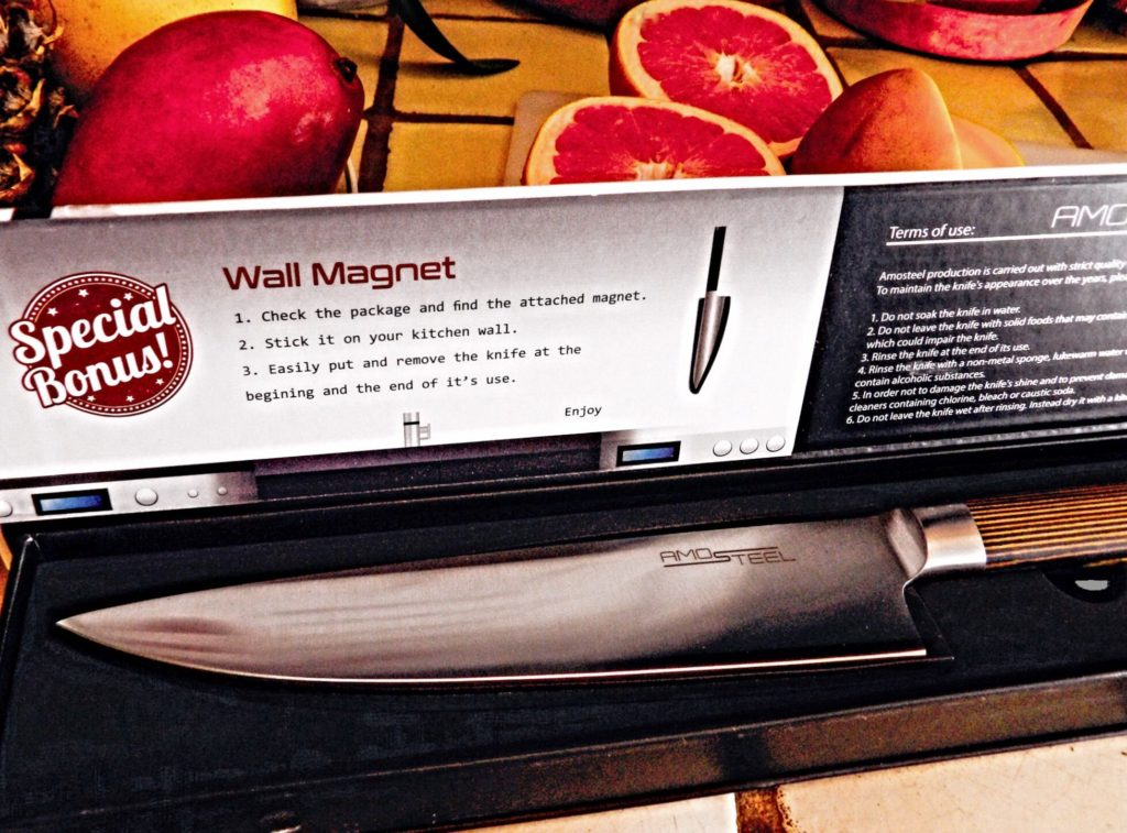 AMOSTEEL Professional Chef Knife