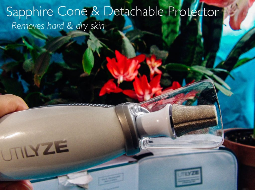 Utilize 10-in-1 Professional Manicure & Pedicure Set Sapphire Cone