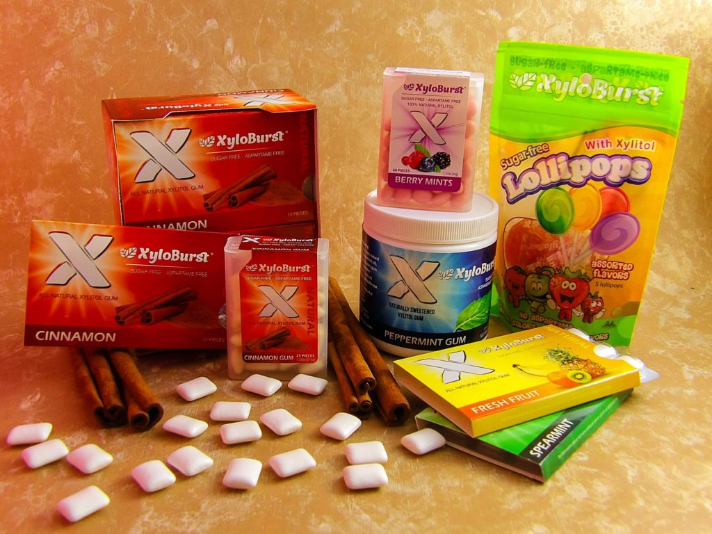 XyloBurst All Natural Xylitol Gum