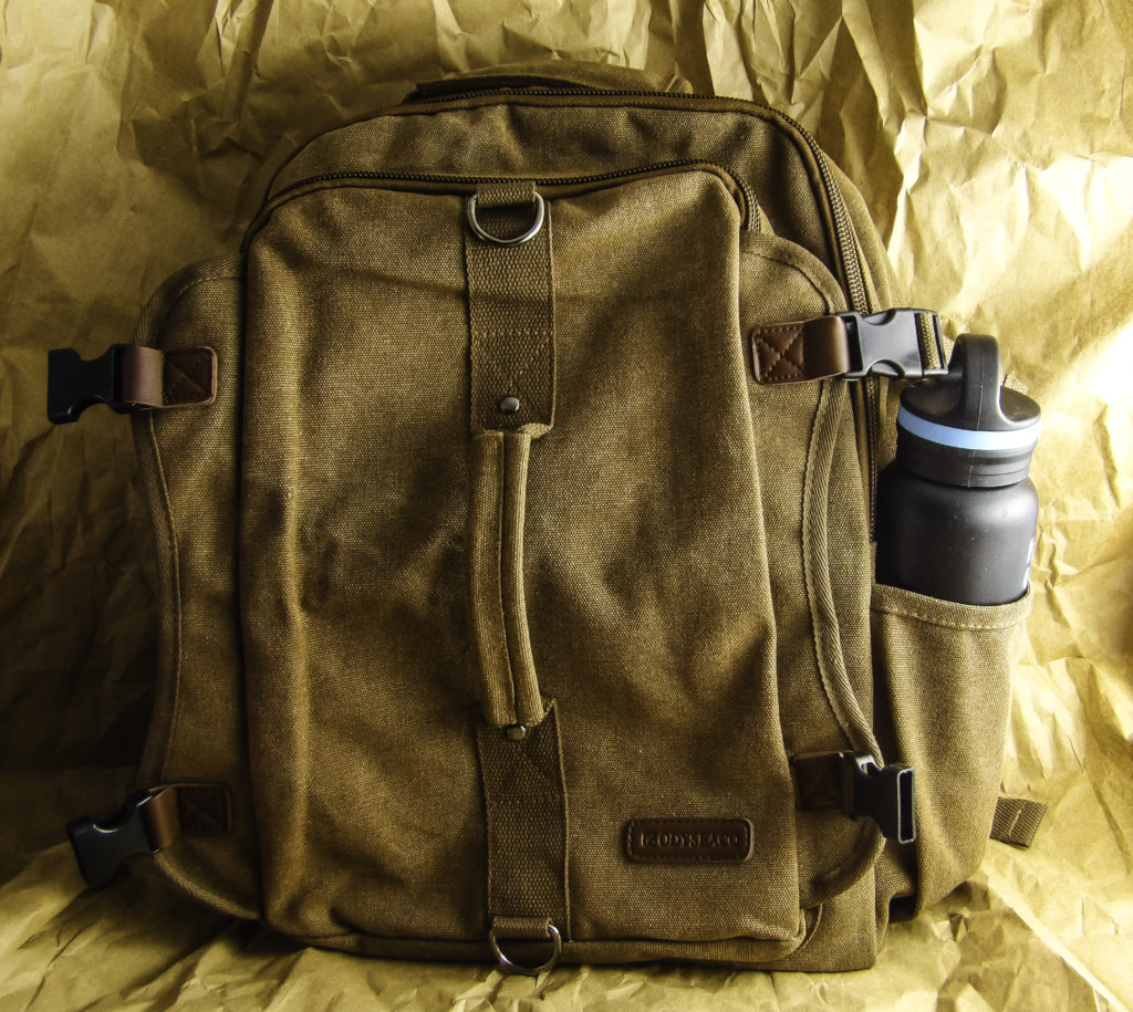 Montera Vintage Canvas Backpack