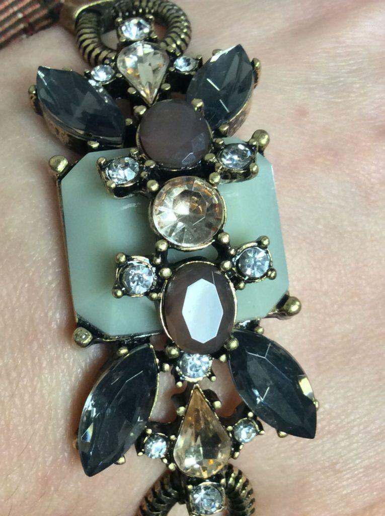 7 Charming Sisters Vintage Beauty Bracelet