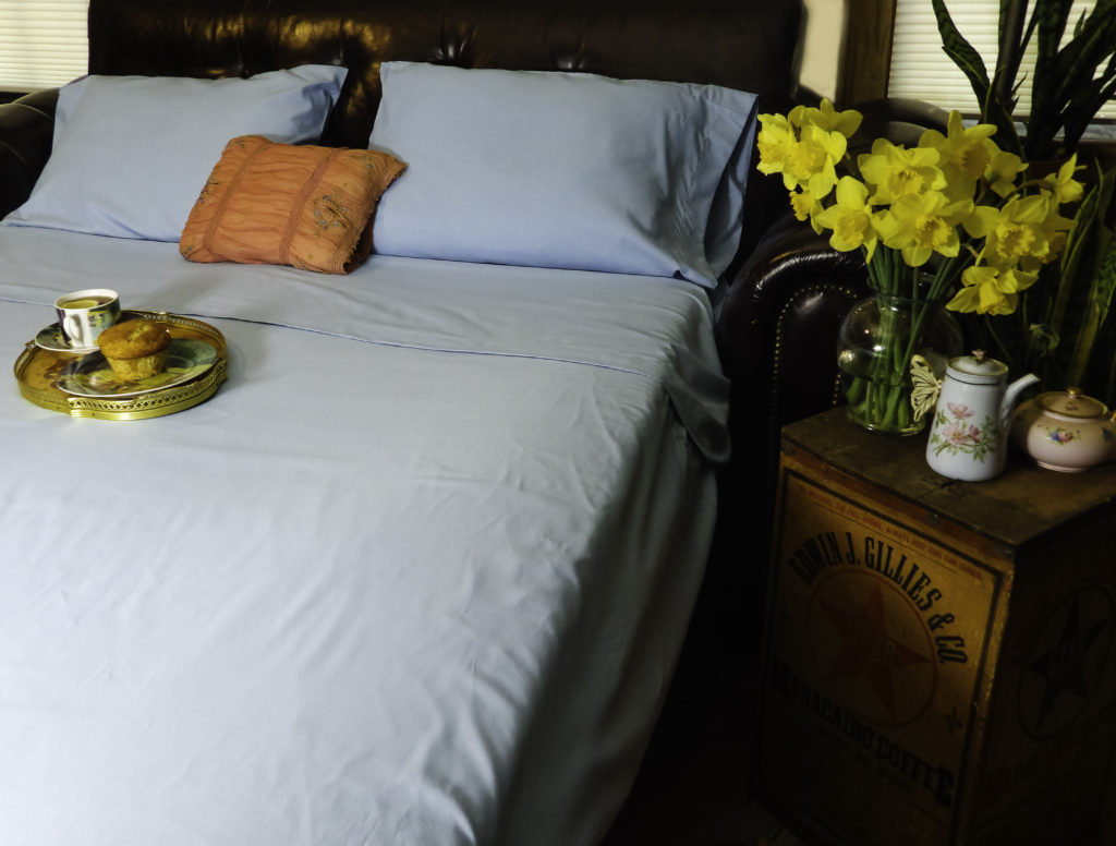 Cosy House Bamboo Bed Sheets are perfect for spring weather