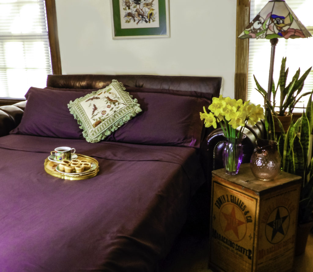 Cosy House 1800 Series Bed Sheets in purple