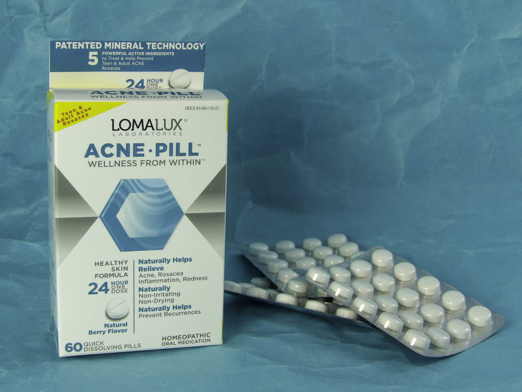 LomaLux Acne Pills are natural acne remedy to clear skin