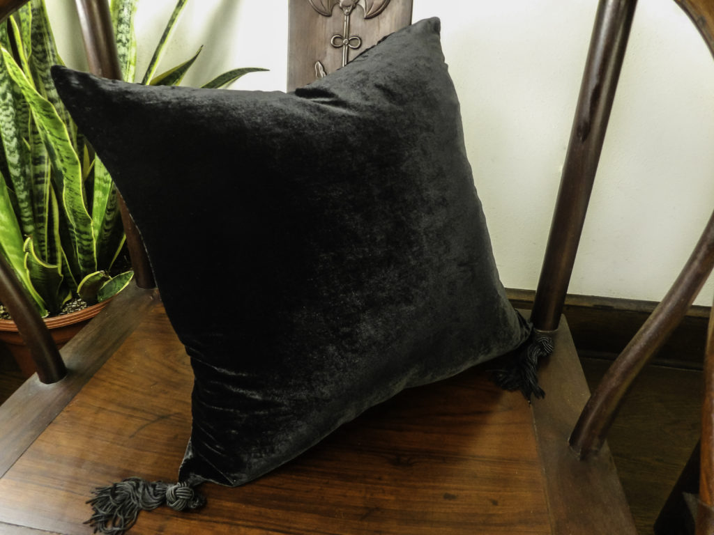 HomeRight Velvet Silk Pillow
