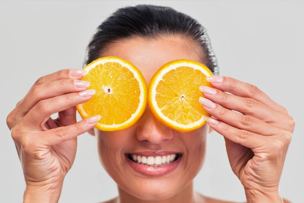 Vitamin C can do wonders for the eye area, reducing fine lines, sagging, discoloration and the appearance of dark circles