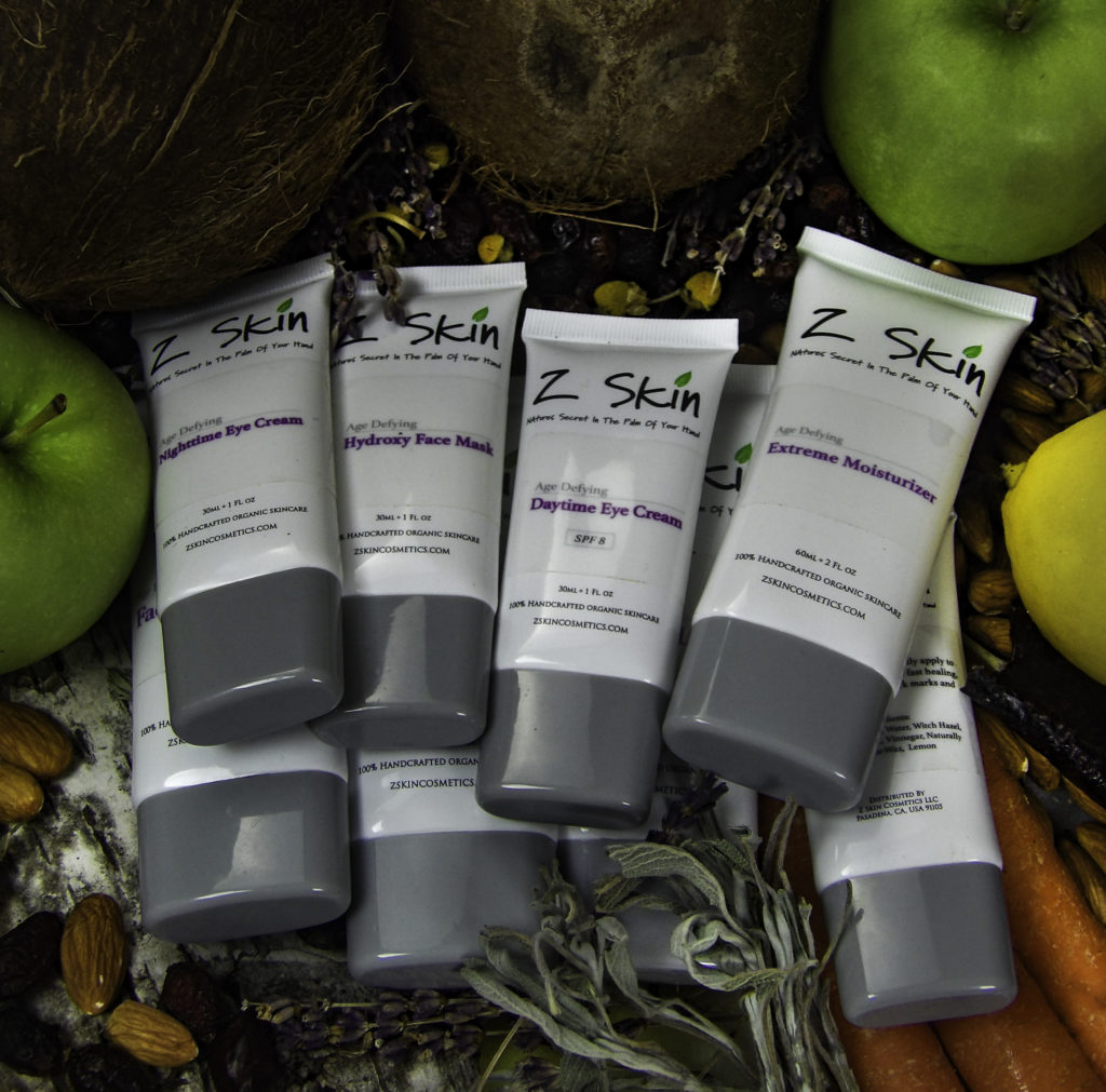 The Z Skin Eight Piece Age Defying System