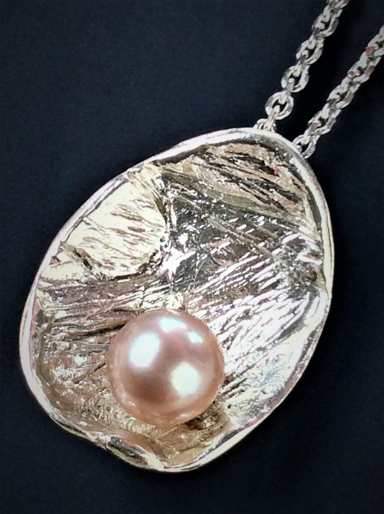 Pearl and .925 Sterling Silver
