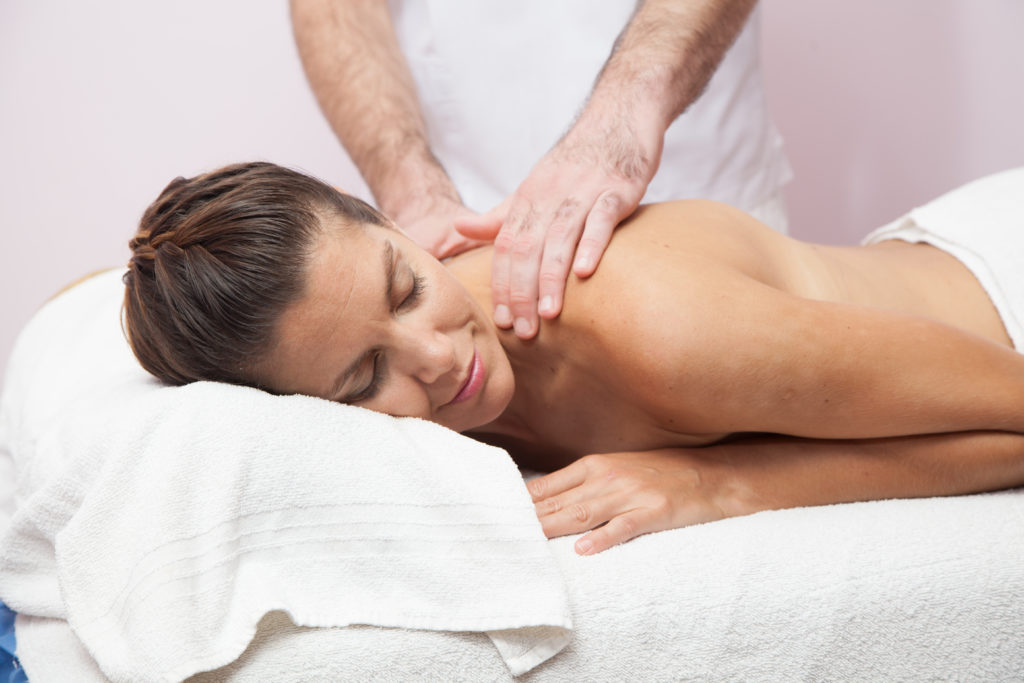 This DVD teaches four massage therapy techniques for relaxing massages at home