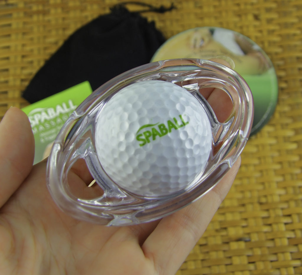 Carry the SpaBall with you while you travel and use it anywhere