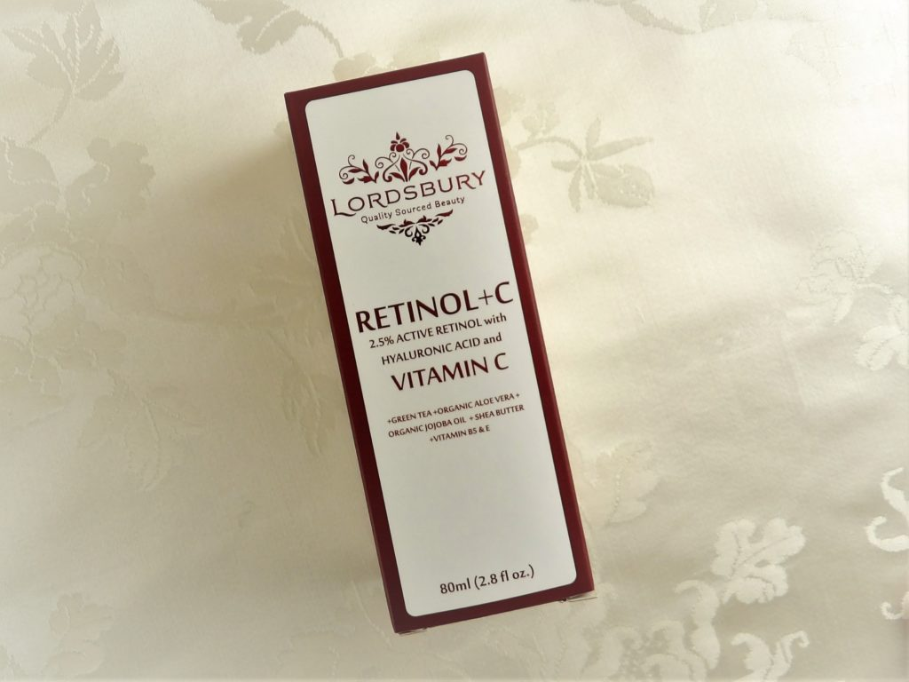 Lordsbury Retinol+C Cream Moisturizer provides gentle but effective Retinol plus Vitamin C in an all-in-one product