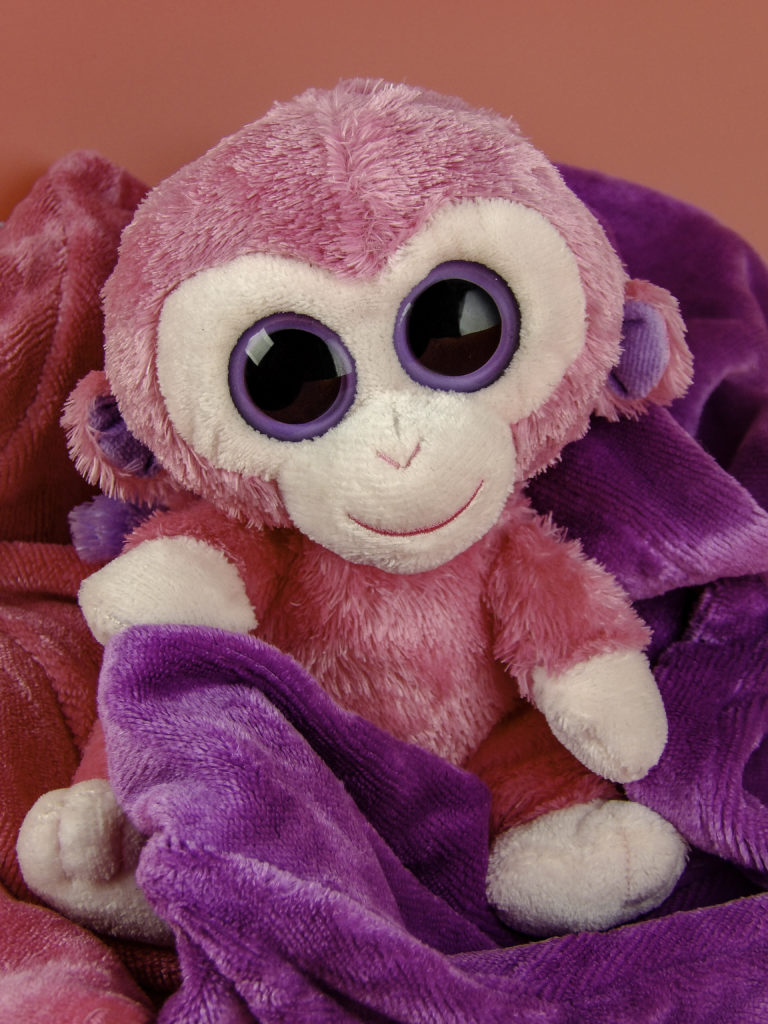 Aurotrends Hair turban is even softer than this Ty Plush Beanie Boo, meaning no damage to skin or hair