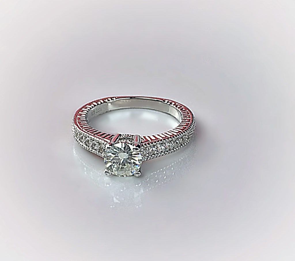 engagement three en ring diamond to zoom rings kay zm gaudy stone hover ct kaystore mv gold princess tw white cut
