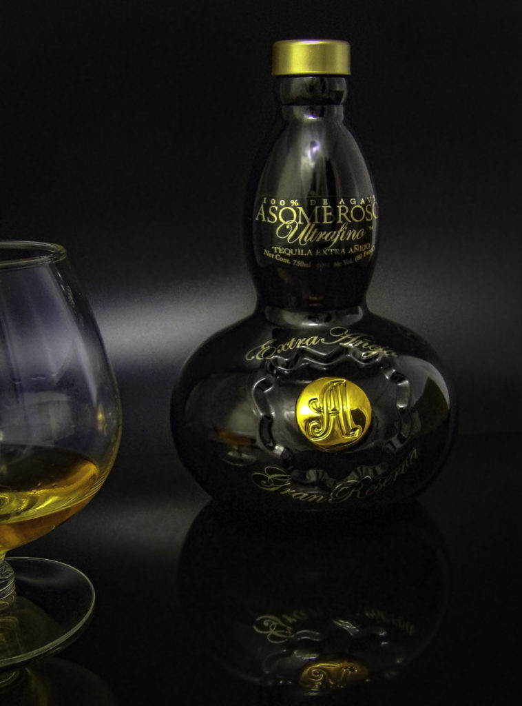 Artisan-style heavy bottle