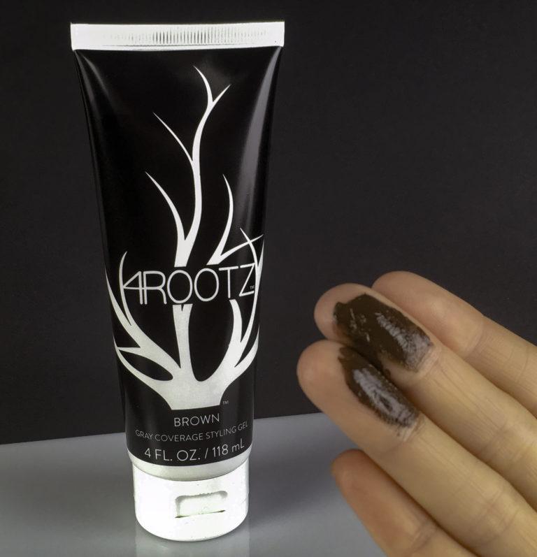 brown hair coloring gel application
