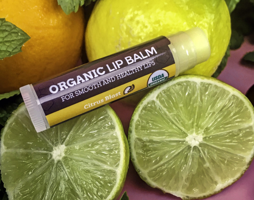 Earth's Daughter Organic Beeswax Lip Balms are 100% USDA Certified Organic