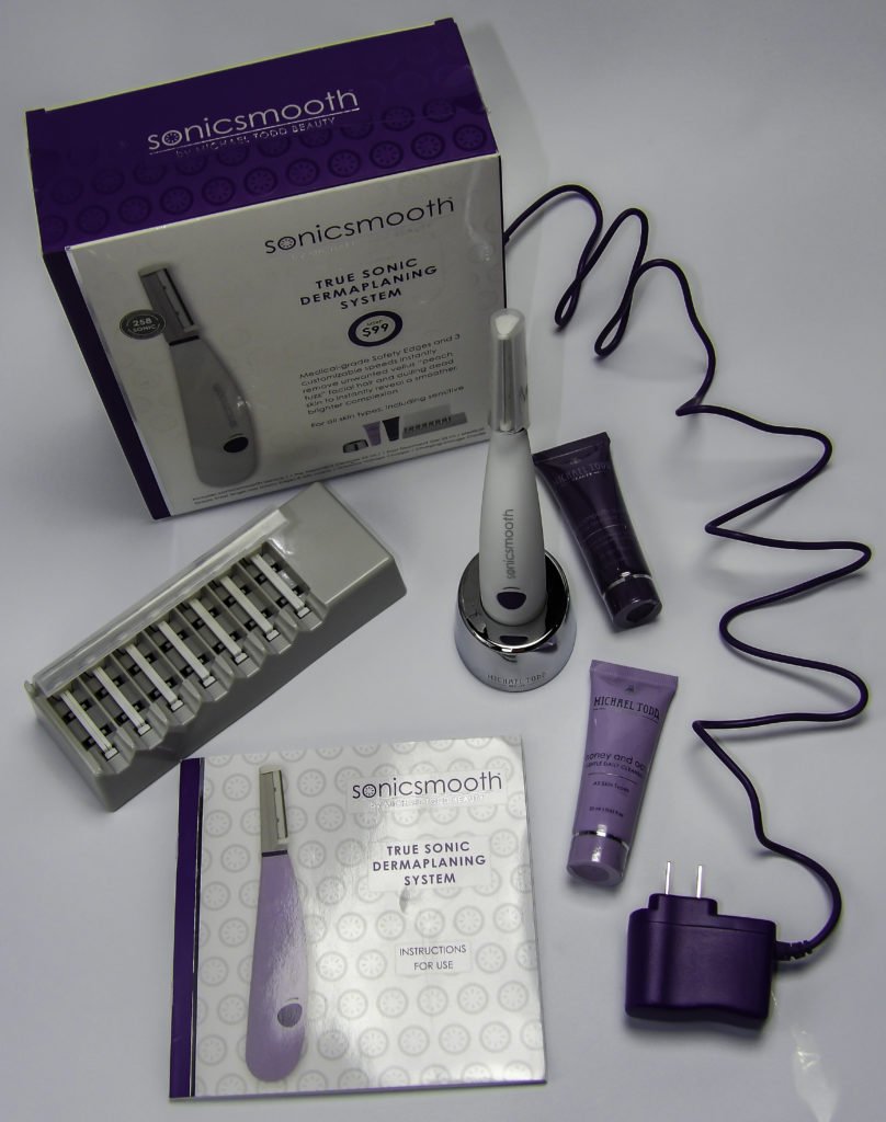 Dermaplane at home safely and effectively with the SonicSmooth