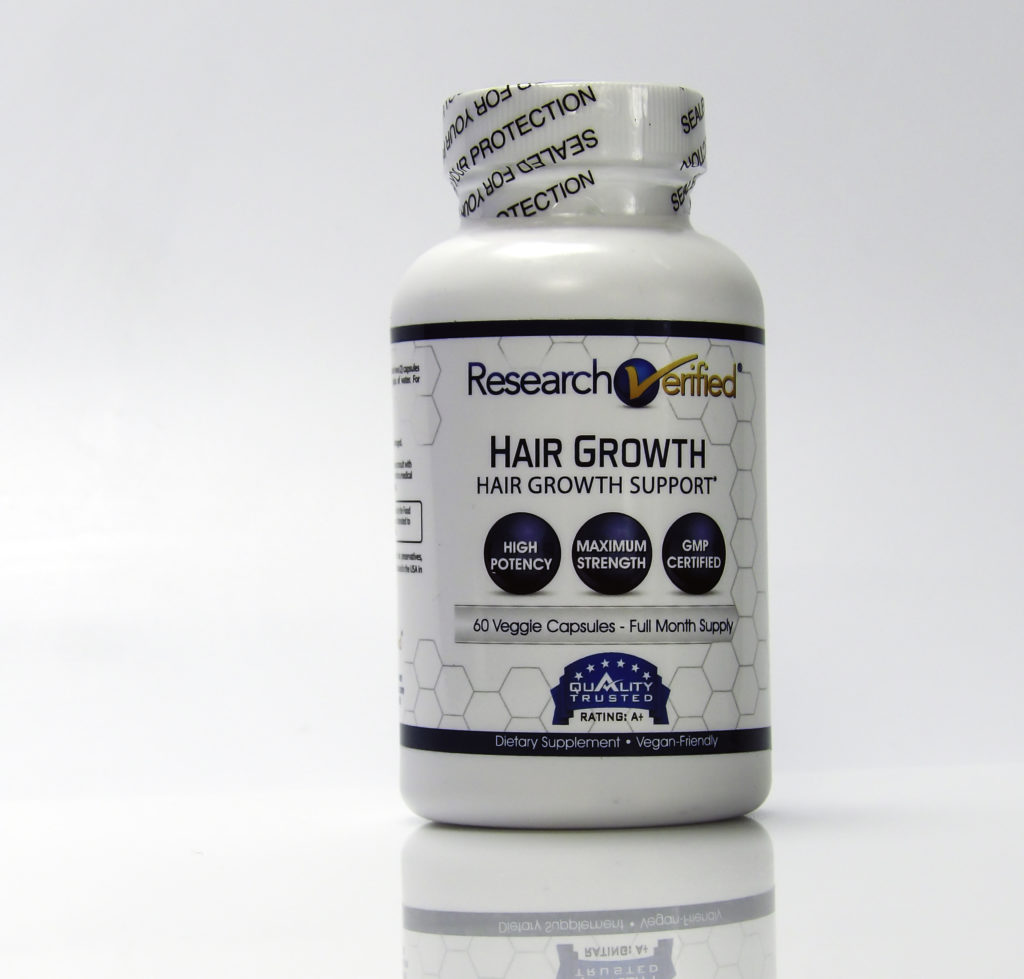 Verified Research Hair Growth is manufactured in the USA in an FDA approved facility and it is independently tested for quality
