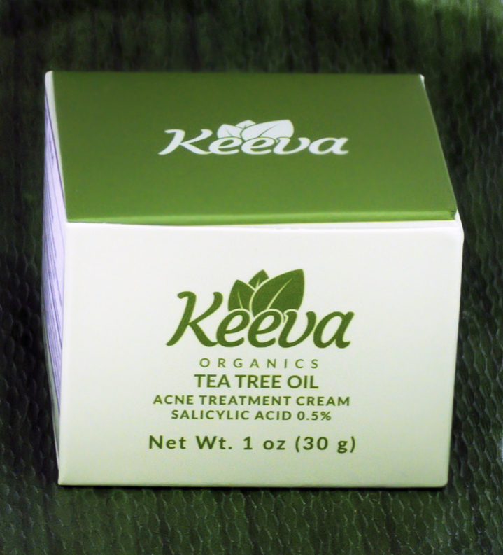 Keeva insists on natural, healthy ingredients that won't damage skin